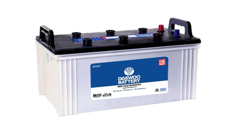 Home Daewoo Battery